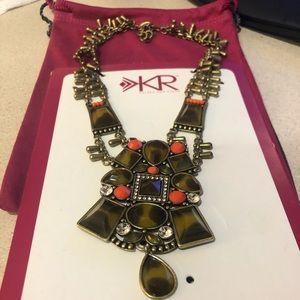 "Silpada K&R ""Sahara Sun"" Bib Necklace New"